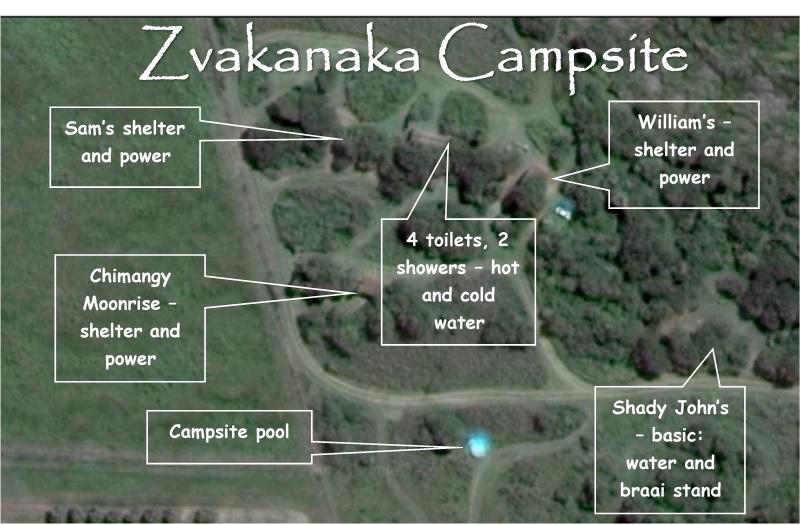 Zvakanaka Camp Sites