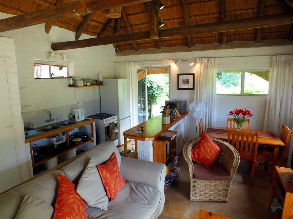 Madalas kitchen-living room looking west